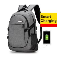 Travel Extra Large Business Laptop Backpack With Built In Charger / Waterproof Fabric  Manufactures