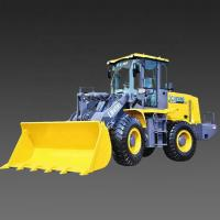 Large Compact Tractor Loader , Wheel Loader Machine Shang Chai Engine Manufactures