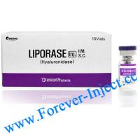 Liporase , hyaluronidase 1500I.U./vial,  increase the dispersion and absorption of hyaluronic acid. Manufactures
