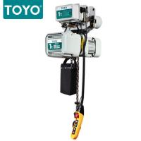 TOYO KD-1 Aluminum Body Three Phase 380V Electric Chain Hoist Hook Suspension Type Manufactures