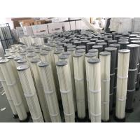 Industrial Polyester Pleated Dust Cartridge Pulse Dust Filter Bag OEM Design Manufactures