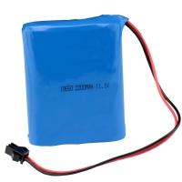 NMC 12V 2200mAh 18650 Rechargeable Battery Pack 1C Discharge Manufactures
