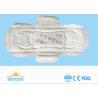 Negative Ion Disposable Ladies Sanitary Napkins High Abosorption Winged Shape
