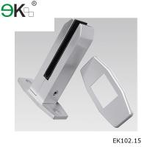 Low price frameless deck mounting anodised aluminum alloy spigot-EK102.15 Manufactures