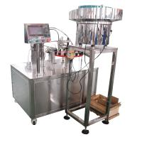 Curved neck easy to fold plastic ampoule filling and sealing machine Manufactures