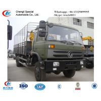 dongfeng 4*4 knuckle boom mounted on truck, hot sale dongfeng truck with crane for sale Manufactures