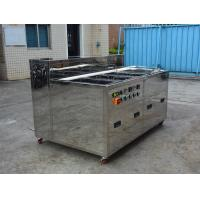 China Multi Tank Industrial Ultrasonic Cleaner For Car / Motor / Truck Wash Rinse Dry Ultrasonic Parts Cleaner on sale