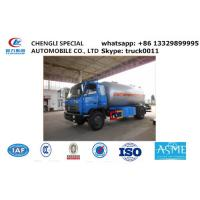 dongfeng brad 10,000L lpg gas delivery truck for sale, Dongfeng 190hp cooking gas transporting tank vehicle for sale Manufactures