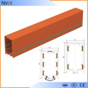 4 Poles HFP 56 600v Overhead Crane Busbar System Power Rail System Manufactures
