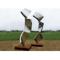 Contemporary Metal Stainless Steel Outdoor Design Sculpture Abstract Manufactures
