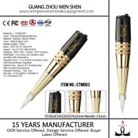 CTM003 High speed revolution no voice eyebrow tattoo pen permanent makeup machine Manufactures