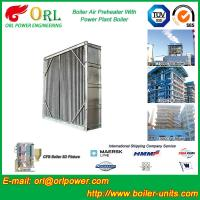 Water Heat CFB Boiler APH Steam Air Preheater In Cement Plant , Tubular AirPreHeater Manufactures