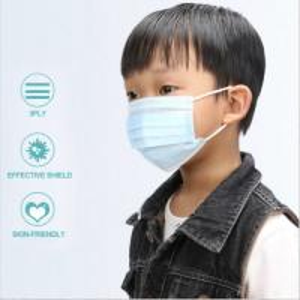 Cartoon Earloop EN14683 Kid Safe Facial Masks Manufactures