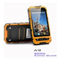 A9 Android Intelligent 3 Proof Museum Audio Guide Equipment With Lion Battery Manufactures