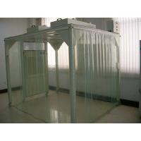 Portable Softwall Modular Clean Room / Class 100 Clean Booth Class 1000 Purification Manufactures