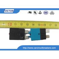 Car Fuse Auto Reset Circuit Breaker , DC 30A 28V Resettable Circuit Breakers Manufactures