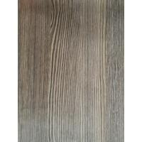 Natural Look Wood Grain Finish Foil Paper 1270mm PU Painting Scratch Resistance For Drawers Manufactures