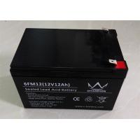 AGM High Rate Deep Cycle Lead Acid Battery 12v 12ah In Black Manufactures