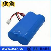 7.2V lithium battery pack with connector in series Manufactures