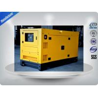Cummins Engine Silent Diesel Generator Set Electronic Speed Governing 1200kw /1500kva Manufactures