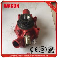 Excavator Water Pump  65.06500-6142  65065006142 In High Performence Manufactures
