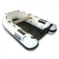 Funny white PVC Inflatable Boat For Surfing / Going Sun Bathing Manufactures