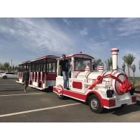 China Theme Park Electric Trackless Train Trackless Kiddie Train Customize Color on sale