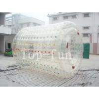 Colorful inflatable water roller , human size inflatable water rollers ball Manufactures
