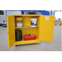 Fireproof Flammable Safety Cabinets Three Points Linked Lock For Dangerous Goods Manufactures