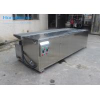 Multi Tank Window Blind Ultrasonic Parts Cleaner With Drying Rack 264 Liter Manufactures