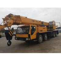 Quality Hydraulic Second Hand Truck Cranes XCMG 88s Luffing Time 40% Grade Ability for sale