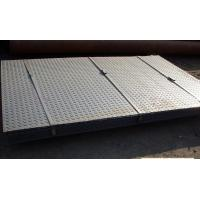 Checkered Galvanized Steel Sheet In Coil , Metal Sheet Roll Hot Dipped Manufactures