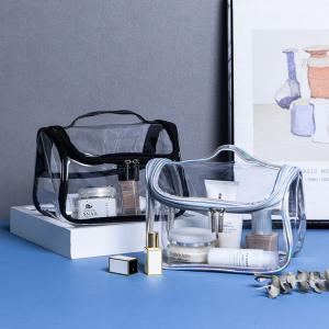 L22*D15*H14 Cm Leak Proof Pvc Makeup Toiletry Bag Manufactures