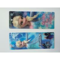 Frozen Design PET 3D Lenticular Bookmarks For Christmas 152 X 57 MM Size Manufactures