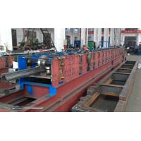 Rack column forming machine for rack upright suitable cold rolling steel, hot rolled coils Manufactures