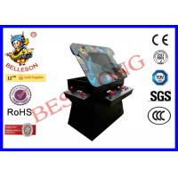 Classic Black Coin Operated Game Machines 19 Inch Screen With Top Panel Lift Function Manufactures