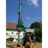 Buy cheap 1200mm Max Pile Diameter Hydraulic Piling Machine , 24m Max Depth Borehole from wholesalers