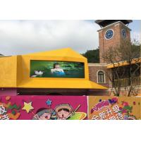 Digital Outdoor LED Video Wall  1 / 5 Scan  Drive Mode With Creative Solutions Manufactures