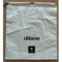 Quality White Plastic Drawstring Backpack For Laptop / Ipad / Notbook for sale