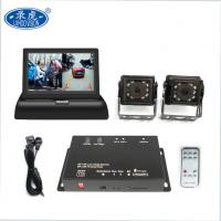 12V Vehicle Security Camera System Mini 2 Channel HD DVR Kit HD Cameras Monitor Manufactures