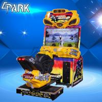 1 Player Race Car Amusement FF Moto Arcade Racing Game Machine 251W Manufactures