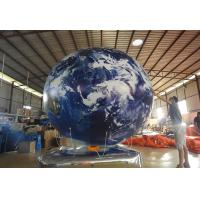 Quality Opening Ceremony Inflatable Advertising Balloons / Inflatable Earth Ball for sale