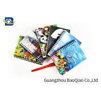 A4 A5 A6 3D Lenticular Notebook Eco - Friendly Material For Student Stationery Manufactures