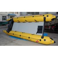 Quality PVC 6 Person Inflatable 4.8m Boat Zapcat Boat With Aluminum Floor for sale
