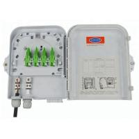 Outdoor 8 Port Wall Mounted Fiber Optic Terminal Box / FTTH Distribution Box Manufactures