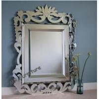 UK Design Bathroom Venetian Wall Mirror Hand Made Beveled Edge Modern Type Manufactures