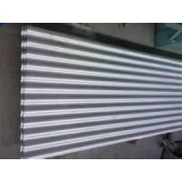 Quality ASTM A653 SS 33-80 0.18mm thickness 600mm width Mini spangle Hot dip galvanized Corrugated Steel Sheet for Guardrails for sale