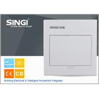 MCB power electrical distribution box SINGI brand GNB 3007 7 ways ivory-white color power distrbution box Manufactures
