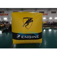 PVC Tarpaulin Inflatable Buoys Inflatable Cube / Sailing Marks For Racing Event Manufactures