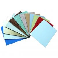 Polyester Paint Aluminum Metal Composite Material , Exterior Building Cladding Panels Manufactures
